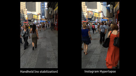We put Instagram's Hyperlapse app to the test in Times Square | pixels and pictures | Scoop.it