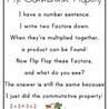 Commutative and Distributive Property of Multiplication