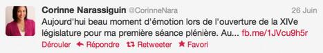 LEGISLATIVES - La rentrée des nouveaux députés en tweets | Du bout du monde au coin de la rue | Scoop.it