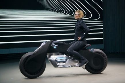 BMW presents its self-balancing motorcycle of the future | M A G | Scoop.it