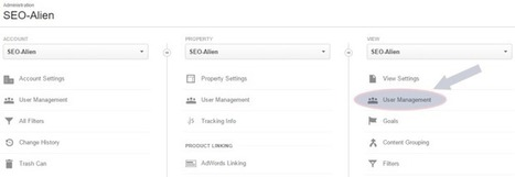 How to Share Your Google Analytics Account or Profile | Allround Social Media Marketing | Scoop.it