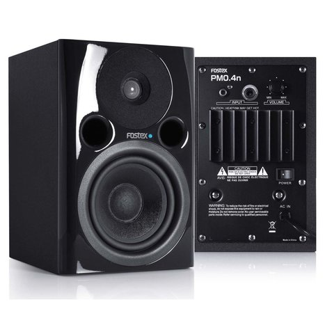 #Gear Review: Fostex PMO.4n Powered Studio Monitor Pair | #T3xRadio Magazine | T3x#Radio Magazine | Scoop.it