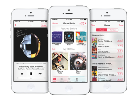 Digital Music Streams Up 24% in 2013 Ahead of iTunes Radio Launch | The Shape of Music to Come | Scoop.it