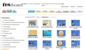 Sharing Technology: TES iboard = free elessons | Friday Fun for Elementary Education Students | Scoop.it