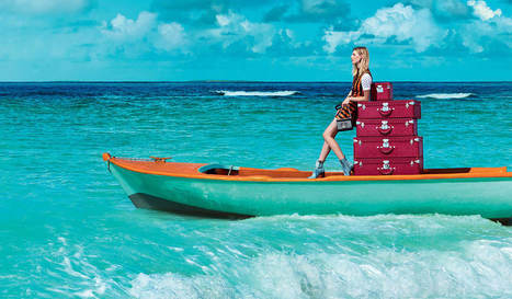Louis Vuitton's Bags Hit the High Seas for The Spirit of Travel Spring 2015 Campaign | FBESHOP | Scoop.it