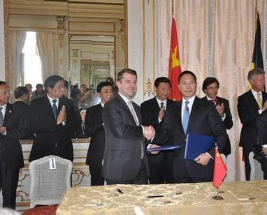 President Xi Jinping Attends the Signing Ceremony for China Shipping and Maersk's Agreement on Zeebrugge Terminal Investment | Port of Zeebrugge | Scoop.it