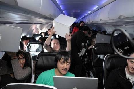 Appareils électroniques à bord des avions : une législation bientôt ...   Projet tuteuré   Scoop.it