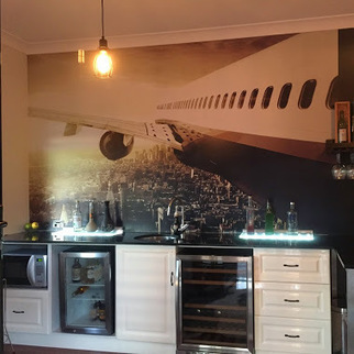 Wall Mural Installation Morningside - Brisbane<br/>Another amazing Rebel Walls&hellip; | Interior Wallpaper | Scoop.it