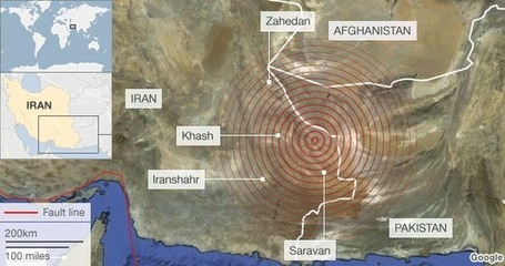 Iran struck by major earthquake | Mr Foden's Geography updates | Scoop.it