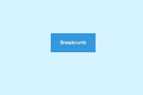 How To Create Flat Style Breadcrumb Links with CSS | Web Design & Development | Scoop.it