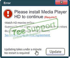 How to Remove 'Please install Media Player HD to continue' Popup - Tee Support Blog   Art Life   Scoop.it