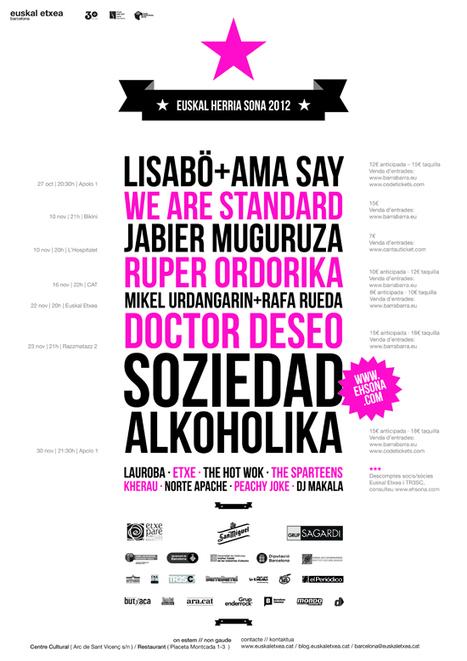 EH SONA'12: 15 anys de música basca: Euskal Etxea Barcelona | Actualitat Musica | Scoop.it