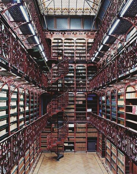 Les 30 bibliothèques les plus grandioses de notre monde actuel : impressionnant !   Inspiration - Emotion - Motivation - Fun   Scoop.it