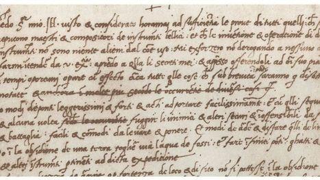 Besoin d'écrire un CV? Inspirez-vous de celui de Léonard de Vinci | l'accompagnement quotidien de la vie active et professionnelle - coaching | Scoop.it