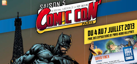 Comic Con' Paris - la saison 5 | And Geek for All | Scoop.it