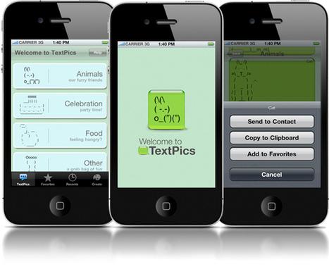 TextPics - Creative ASCII Art for Mobile Texting | ASCII Art | Scoop.it
