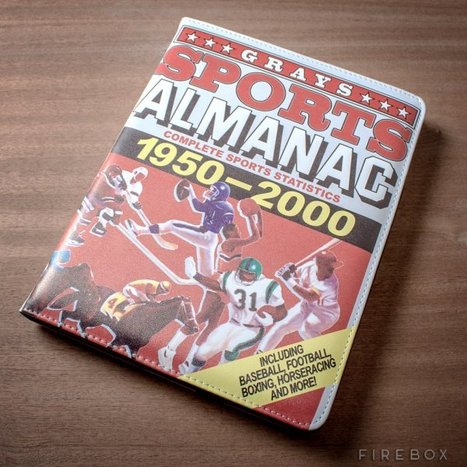 Back to the Future Sports Almanac is Real, As an iPad Case | All Geeks | Scoop.it