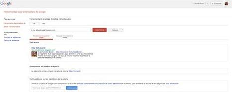 Cómo mejorar la Credibilidad de Contenido con Google AuthorRank | Social Media | Scoop.it