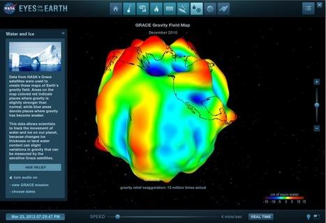 NASA Updates Eyes on Earth Visualization Site | Spatial Sustain | Remote Sensing News | Scoop.it