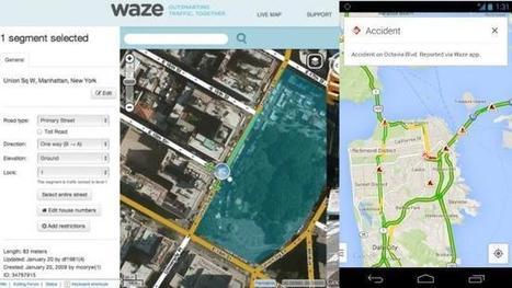 Llega la primera integración entre Google Maps y Waze: reportes de incidentes | Periodismo ciudadano | Scoop.it