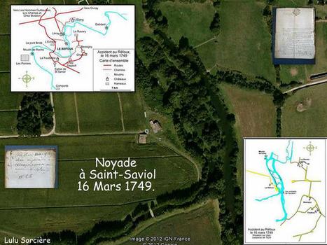 Lulu Sorcière Archive: La noyade de Saint-Saviol - 16 Mars 1749.   GenealoNet   Scoop.it