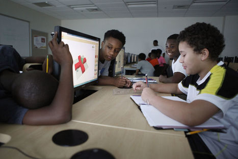 Coding Camp for Minority Boys Where Mentors Make a Big Difference - Mind/Shift | iPads in Education | Scoop.it