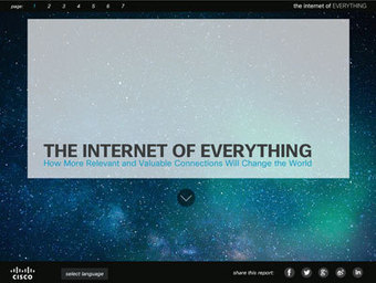 The Internet of Everything (According to CISCO) | Content in Context | Scoop.it