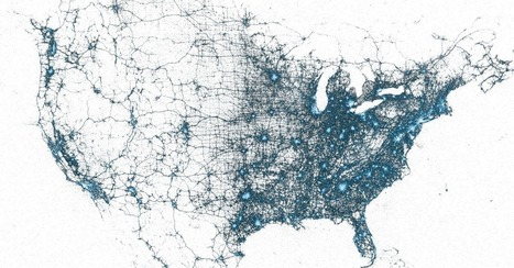 Billions of Geotagged Tweets Visualized in Twitter's Amazing Maps | GTAV Technology and cartography in Geography | Scoop.it