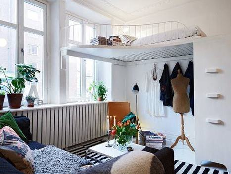 40 Small Bedrooms Ideas To Make Your Home Look Bigger | PPM AG - Darlings in Interiors | Scoop.it