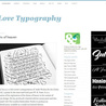 Website Typography