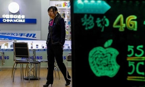 Apple signs deal to open connection between iPhones and China Mobile | Business | Scoop.it