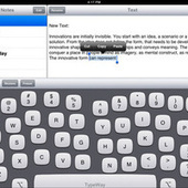 TypeWay iPad Keyboard Adapts To Fit Your Hands Perfectly | iPads in Education | Scoop.it