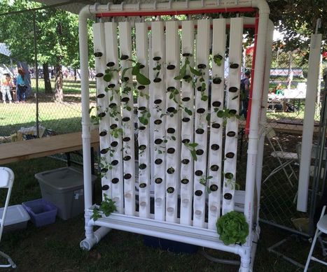 Vertical Hydroponic Farm | Raspberry Pi | Scoop.it