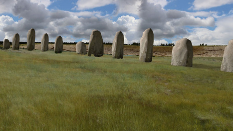 Hidden #Architecture - Huge prehistoric monument found near Stonehenge | Communication design | Scoop.it