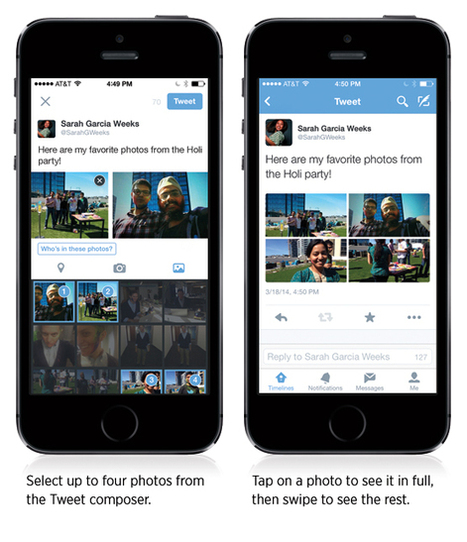 Twitter Adds People Tagging And Multiple Photo Sharing To Tweets - TheInternetVision.com   Digital-News on Scoop.it today   Scoop.it