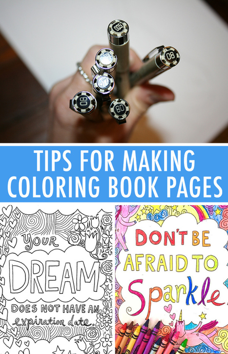 7 Expert Tips for Making a Fun & Functional Coloring Page | Circolo d'Arti | Scoop.it
