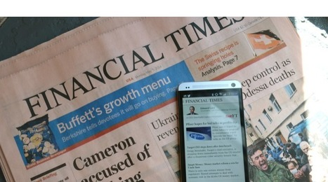 The Financial Times has a 30-person data team for edit and marketing - Digiday | Giornalismo Digitale | Scoop.it