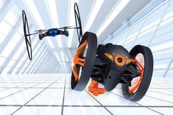 [CES] Parrot dévoile un mini-drone et Jumping Sumo, un véhicule   Connected-Objects.fr   Technologies, TIC, Drones, Villes Intelligentes, internet des objets et autres innovations   Scoop.it