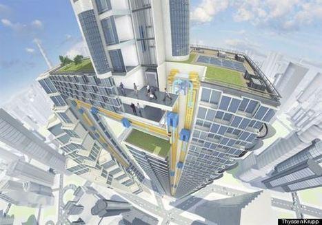 Cet ascenseur va vous donner envie de vivre dans le futur | La Ville , demain ? | Scoop.it