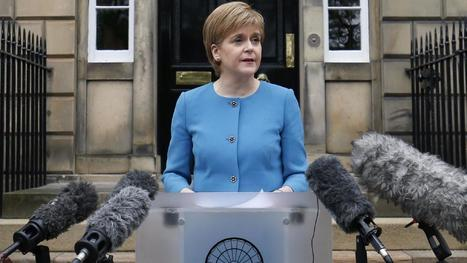 Nicola Sturgeon says Holyrood could try to block Brexit | Politics Scotland | Scoop.it