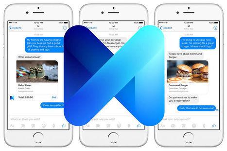 Avec M pour Messenger, Facebook veut devenir le Google du mobile | Digital News in France | Scoop.it