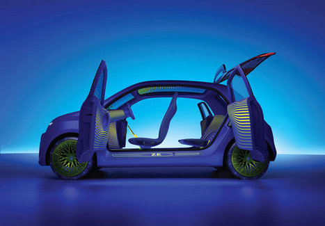 A Closer Look At Twin'z, Renault's Trippy Nature Car   Biomimicry   Scoop.it
