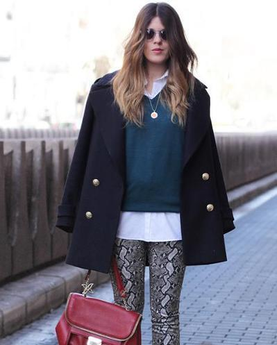 moda-a-pie-de-calle-invierno-2013.jpg (470x585 pixels) | Moda | Scoop.it