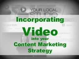 How to Incorporate Video in Your Content Marketing Strategy - Your Local Studio | Video Indexing | Scoop.it