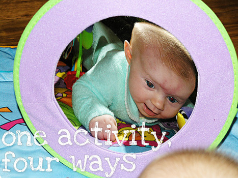 One activity, four ways: Mirrors | Learn through Play - pre-K | Scoop.it