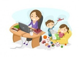 How to become successful as a work-at-home Mom or Dad | Blended Family | Scoop.it