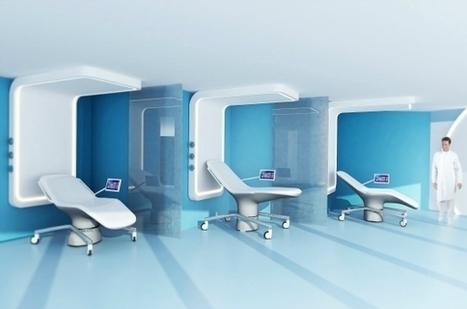 La chambre d'hôpital du futur voit le jour à Lille | e-santé | Scoop.it