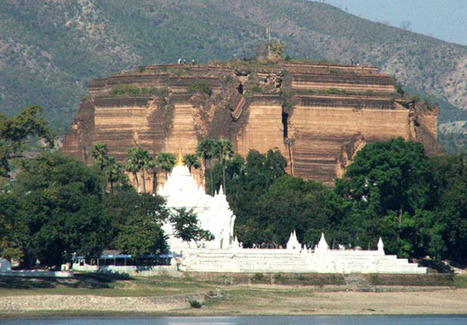 Myanmar Tourist Destinations: Mingun, ancient village by the river | Travel Tips | Scoop.it