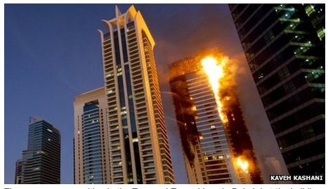 'Towering inferno' fears for Gulf: 70% of the high-rise buildings have panel facade combustible thermoplastic ... | The Architecture of the City | Scoop.it