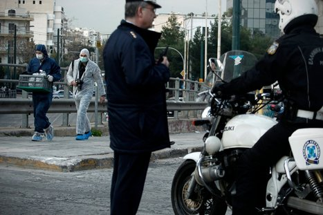 Shots Fired Into Greek Governing Party Offices | Politics economics and society | Scoop.it